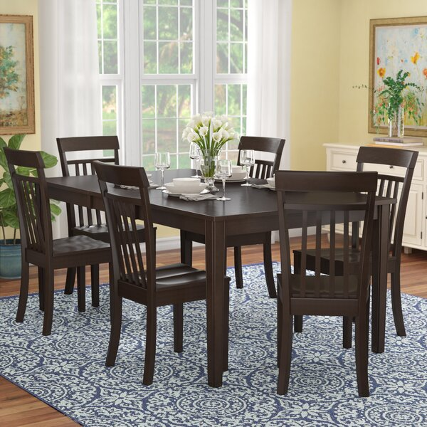 Lindstrom 7 Piece Dining Set by Red Barrel Studio Red Barrel Studio