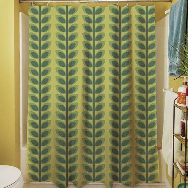 Tropical Breeze Shower Curtain by Manual Woodworkers & Weavers
