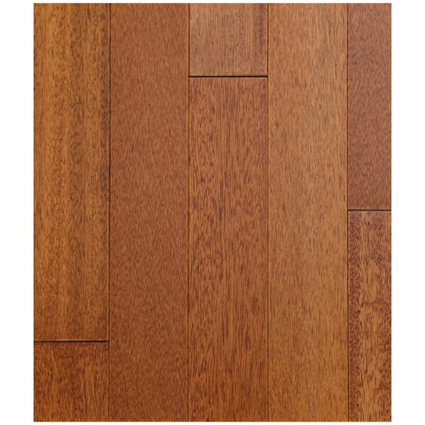 3-1/2 Solid Merpauh Hardwood Flooring in Natural by Easoon USA