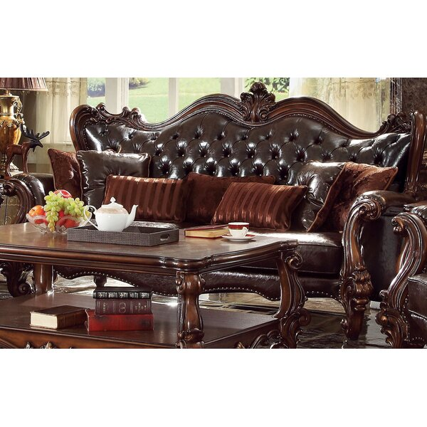 Medley Sofa with 7 Pillows by Astoria Grand