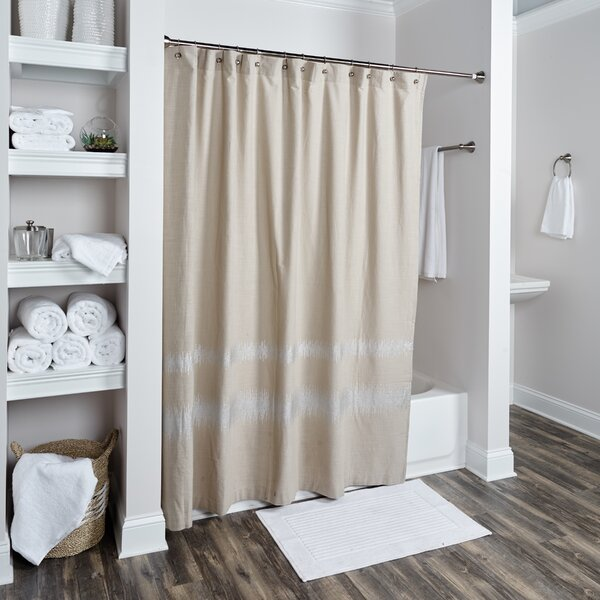 Issac Cotton Shower Curtain by Wade Logan