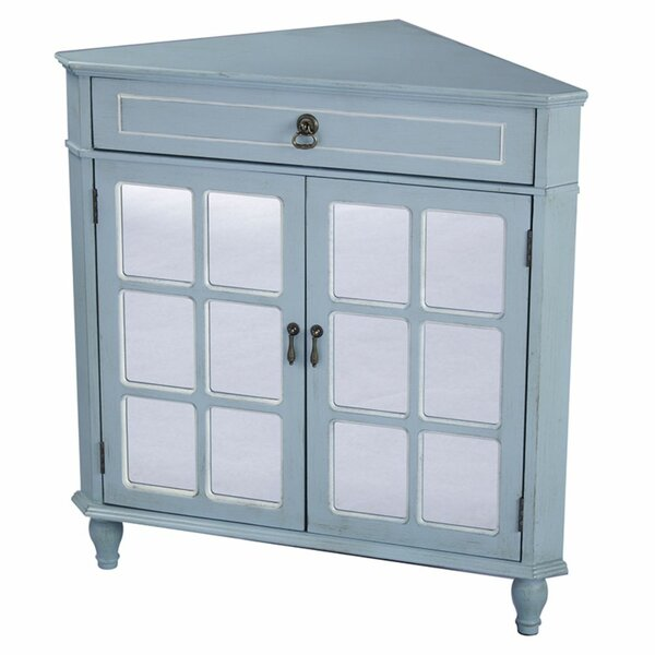 Knaresborough 2 Door Corner Accent Cabinet by Highland Dunes Highland Dunes