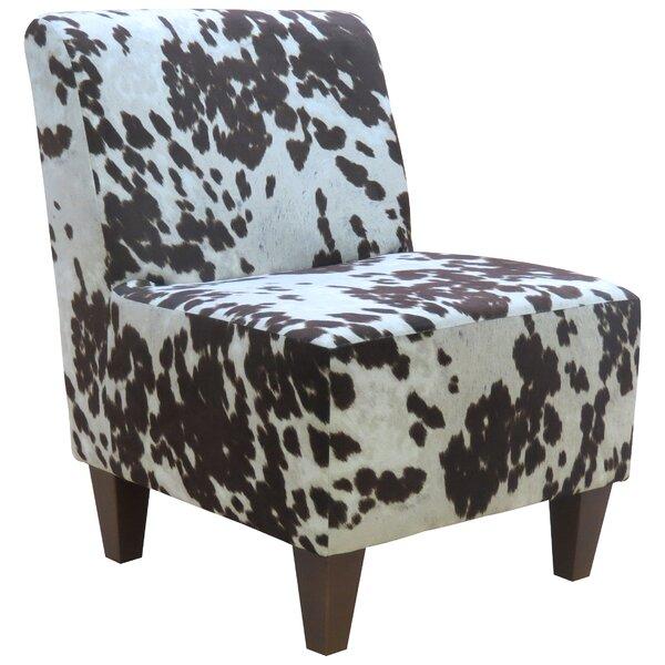 Nicolasa Slipper Chair by Williston Forge