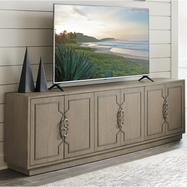 Review Solid Wood TV Stand For TVs Up To 88