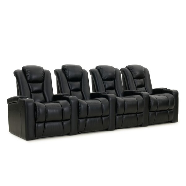 Home Theater Row Seating (Row Of 4) By Red Barrel Studio
