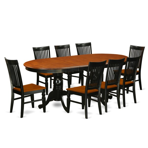 Pilcher 9 Piece Extendable Dining Set by August Grove August Grove