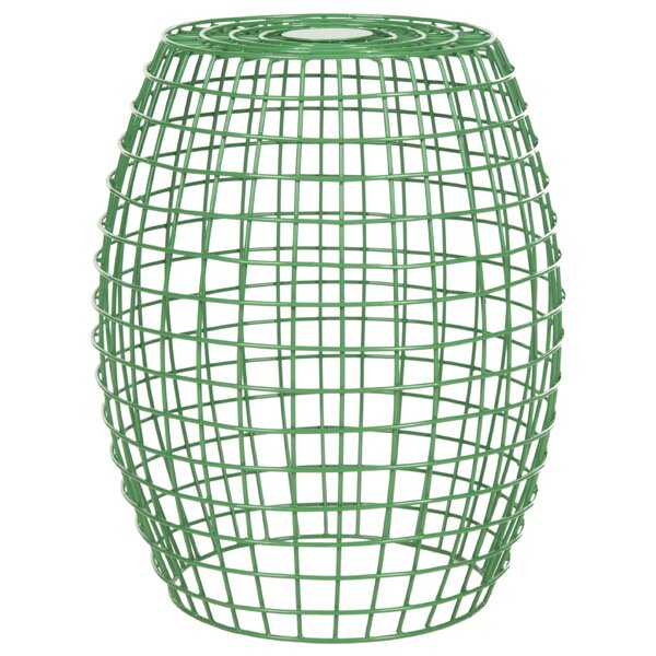 Fox Eric Grid Garden Stool by Safavieh