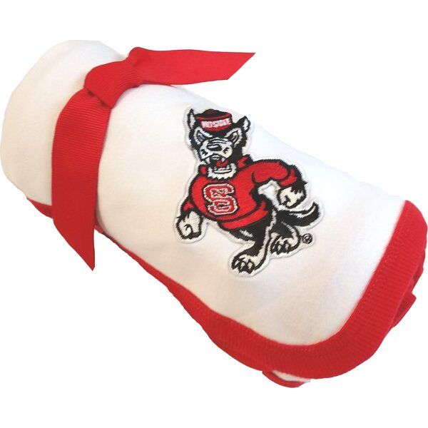 North Carolina State Wolfpack Baby Receiving Blanket by Future Tailgater
