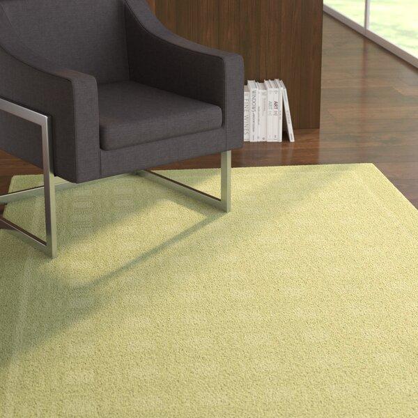 Aspasia Geometric Lime Area Rug by Ebern Designs