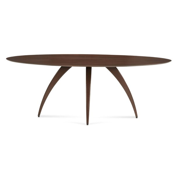 Cullum Ellipse Solid Wood Dining Table by Corrigan Studio