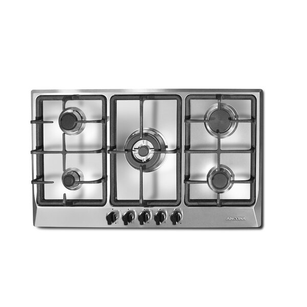34 Gas Cooktop with 5 Burners by Ancona