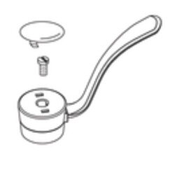 Commercial 4 Single Lever Handle Kit for Bathroom Faucet by Moen