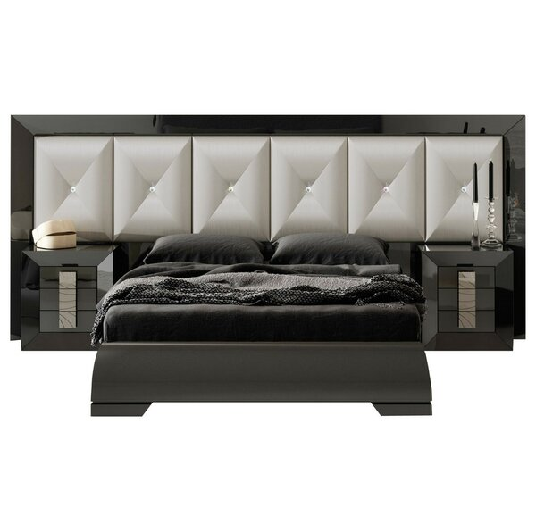 Komar Standard 3 Piece Bedroom Set by Everly Quinn