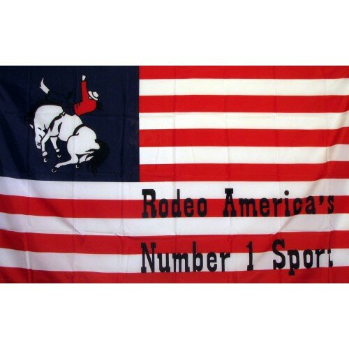 US Rodeo Historical Traditional Flag by NeoPlex
