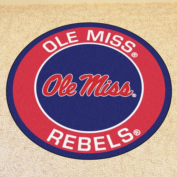 NCAA University of Mississippi (Ole Miss) Roundel Mat by FANMATS