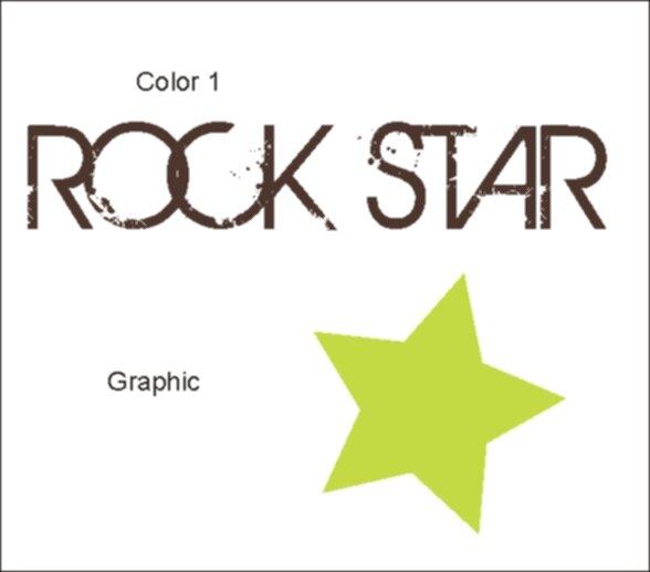 Rock Star Wall Decal by Alphabet Garden Designs