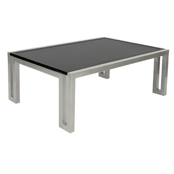 Icon Aluminum Coffee Table by Leona