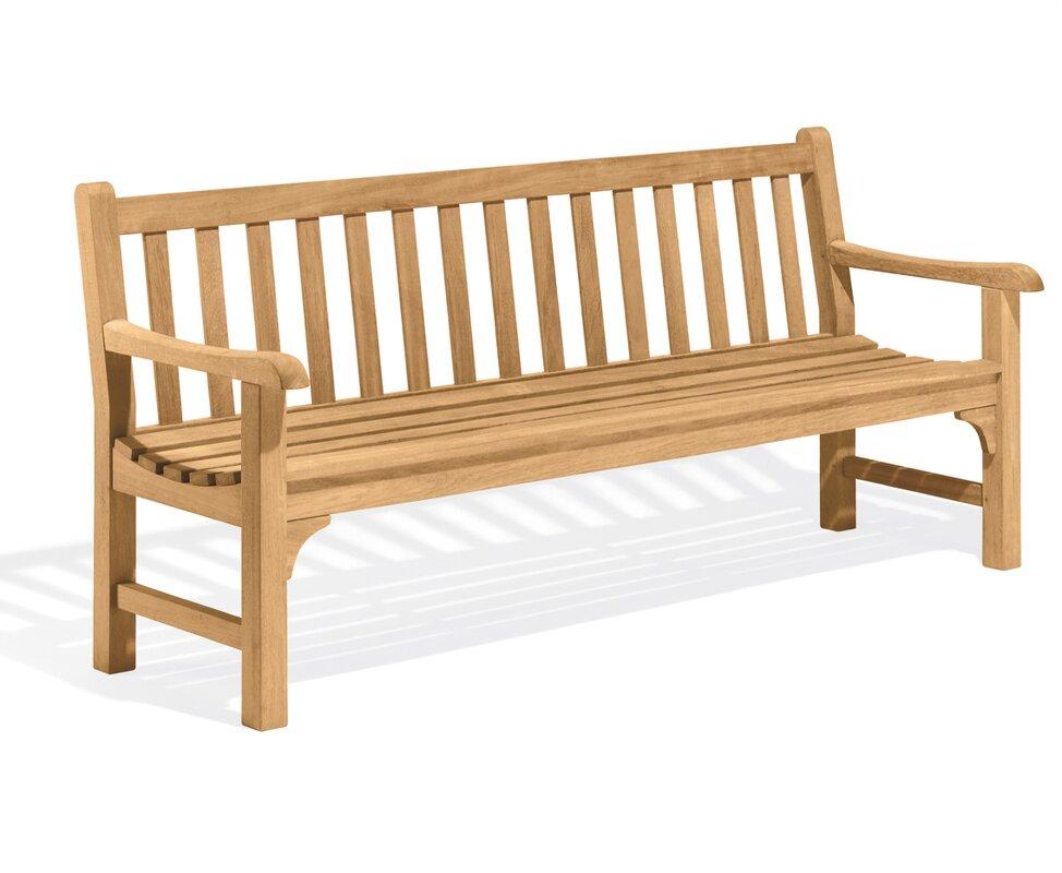 Garden Furniture Essex oxford garden essex wood garden bench & reviews | wayfair