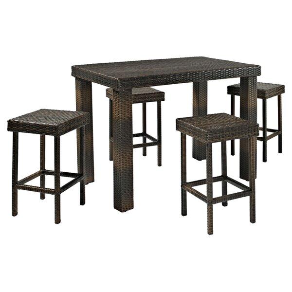 Belton 5 Piece Bar Height Dining Set by Mercury Ro