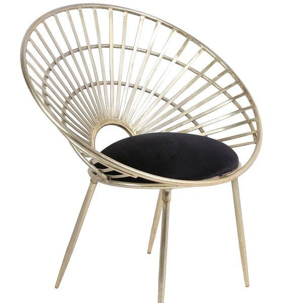 Franko Iron Papasan Chair by Everly Quinn