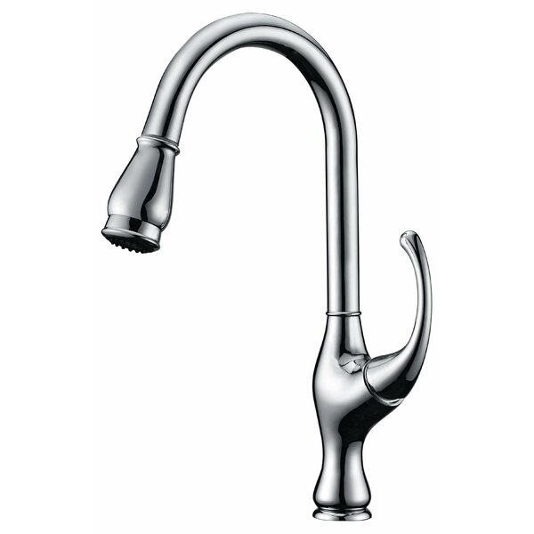 Pull Out Single Handle Kitchen Faucet by Dawn USA Dawn USA