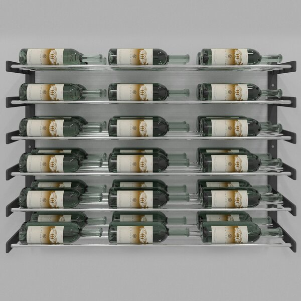 Evolution Series 36 Bottle Wall Mounted Wine Rack by VintageView