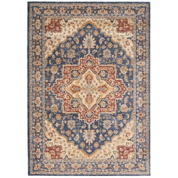 Westbrook Oriental Blue Area Rug by Astoria Grand
