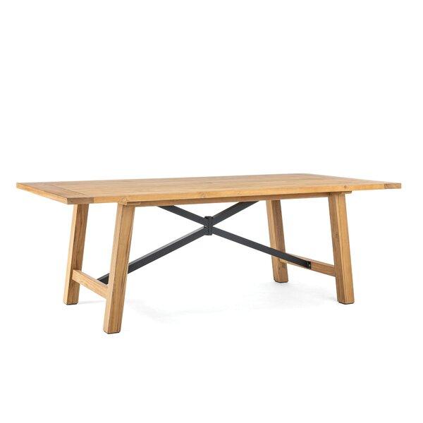 Truss Teak Dining Table By Winston