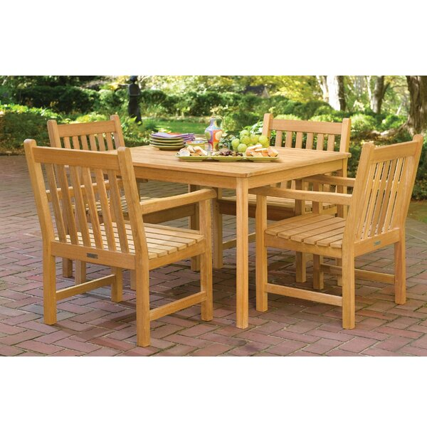 Harpersfield 5 Piece Dining Set by Beachcrest Home