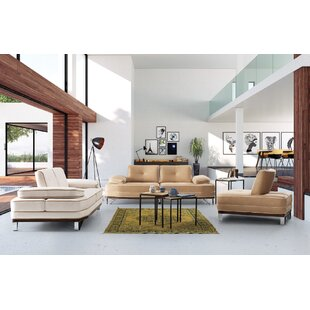 Dunwall 3 Piece Reclining Living Room Set by Orren Ellis
