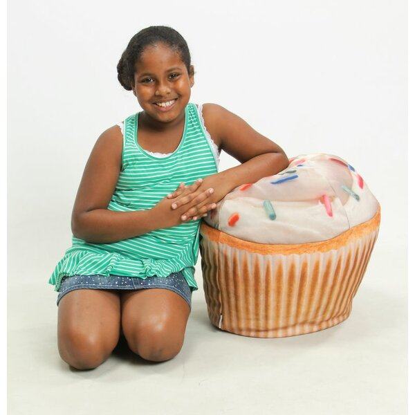 Cupcake Inflatable Bean Bag Chair by Wow Works LLC
