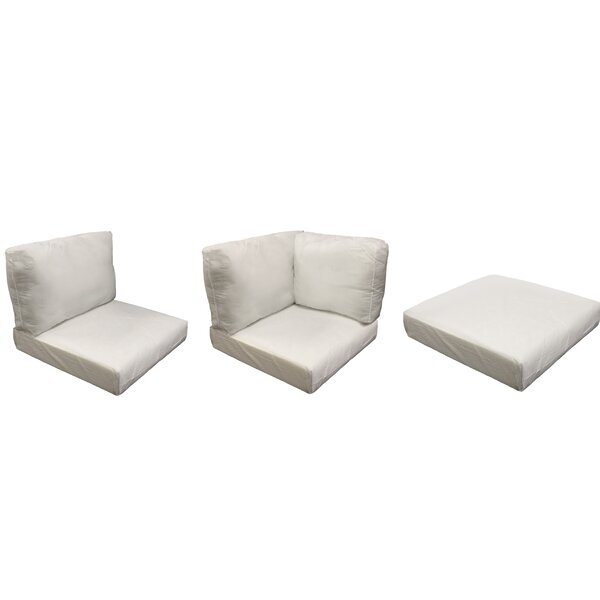 East Village Outdoor 23 Piece Lounge Chair Cushion Set by Rosecliff Heights