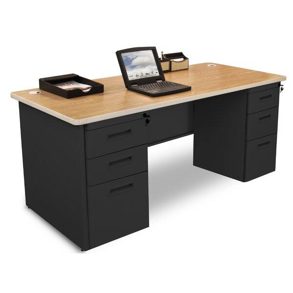 Crivello Executive Desk by Red Barrel Studio