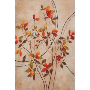 'Autumn's Delight I' Painting Print on Wrapped Canvas by Andover Mills