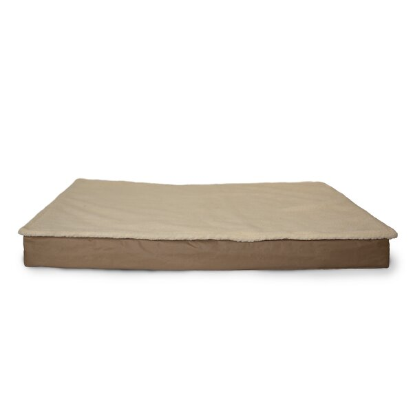 Etta Deluxe Outdoor Memory Foam Dog Bed with Removable Cover by Archie & Oscar