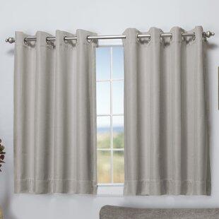 Basement Window Curtains Short | Wayfair