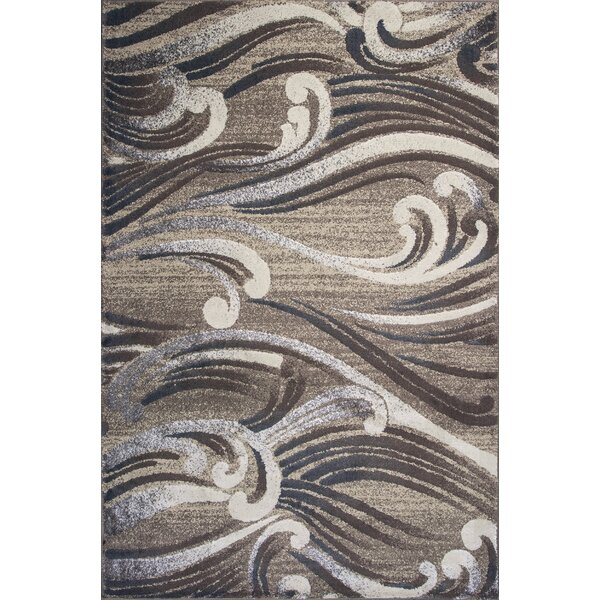 Timeless Natural Scrolls Area Rug by Donny Osmond Home