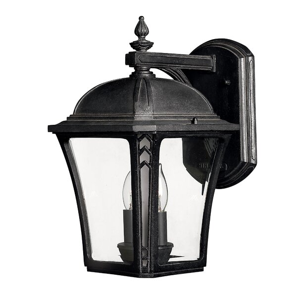 Keltner 2-Light Outdoor Wall Lantern by Alcott Hill