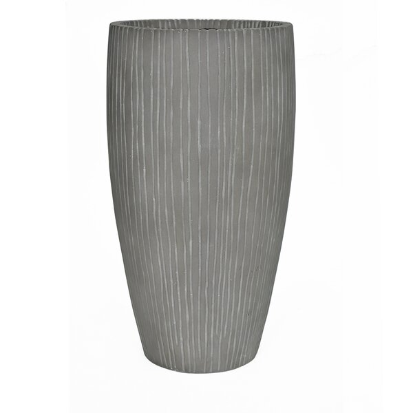 High Ribbed Pot Planter by MPG Planters