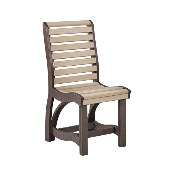 Ezell Patio Dining Chair by Bayou Breeze