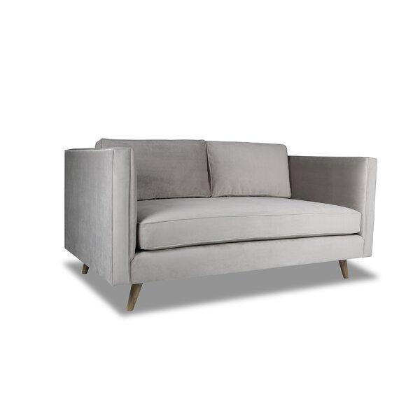 Mukatiwala Plush Deep Sofa by Latitude Run