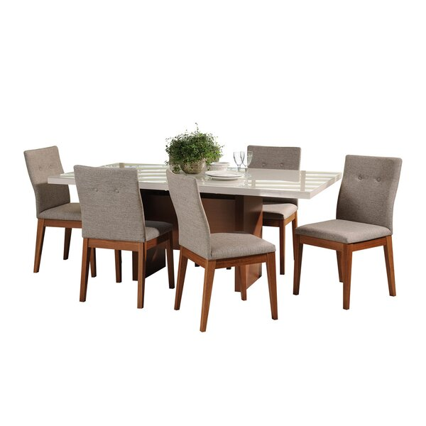 Tauber 7 Piece Dining Set by Union Rustic