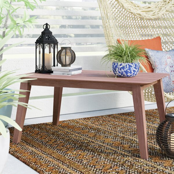 Danya Solid Wood Coffee Table by Bungalow Rose