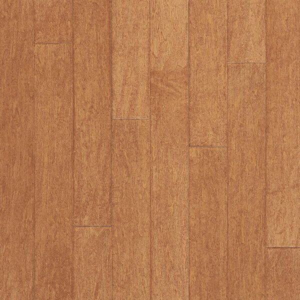 Turlington 3 Engineered Maple Hardwood Flooring in Amaretto by Bruce Flooring