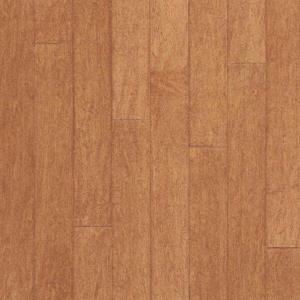 Turlington 3 Engineered Maple Hardwood Flooring in Amaretto by Bruce Flooring