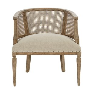 Bon Mary Katherine Cane Back Occasional Barrel Chair