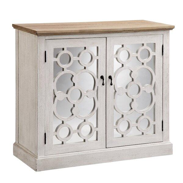 Matherne 2 Door Mirrored Accent Cabinet
