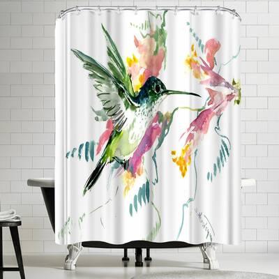 Suren Nersisyan Hummingbird Shower Curtain
