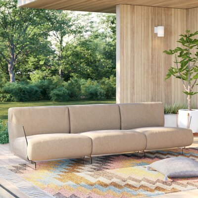 Kartell Pop Outdoor Three Seater Sofa Outdoor Sofas