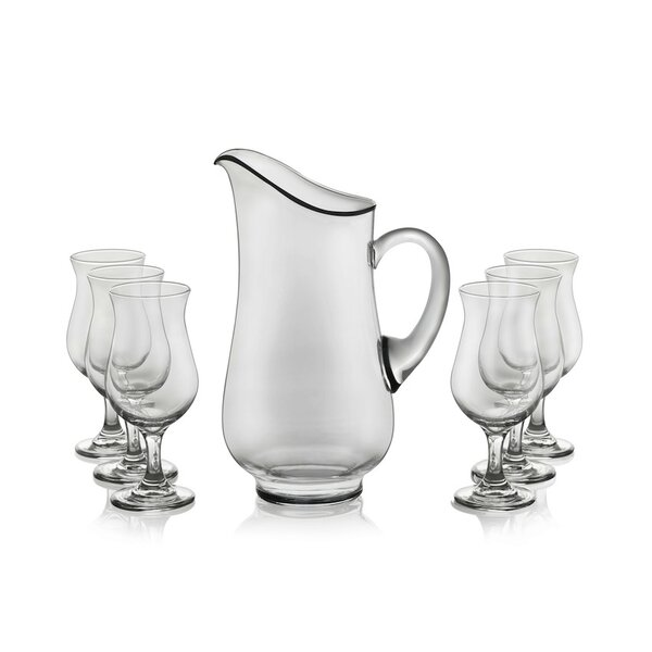Modern Bar Sangria Entertainment 7 Piece Pitcher Set by Libbey